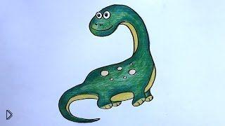 Смотреть онлайн Как поэтапно нарисовать маленького дракона карандашом