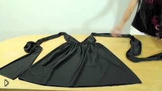 Смотреть онлайн Как сшить греческое платье своими руками