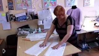 Смотреть онлайн Как сделать выкройку юбки для начинающих