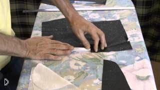 Как сшить накладной боковой карман на брюках - Видео онлайн