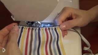 Смотреть онлайн Как правильно сшить юбку и шорты на резинке