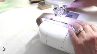 Как ровно строчить на швейной машинке - Видео онлайн