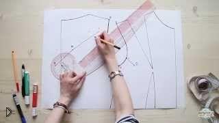 Смотреть онлайн Как правильно построить выкройку рукава
