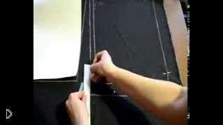 Как построить выкройку юбки карандаш своим руками - Видео онлайн