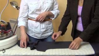 Смотреть онлайн Этапы влажно тепловой обработки швейных изделий