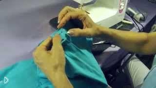 Смотреть онлайн Как правильно пришить пояс к юбке своими руками