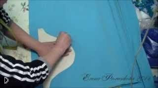Смотреть онлайн Как правильно раскроить платье из трикотажа