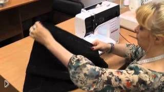 Смотреть онлайн Мастер класс: пошаговое шитье юбки для начинающих