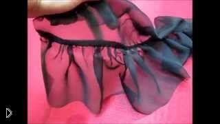 Смотреть онлайн Как сшить многоярусную юбку своим руками
