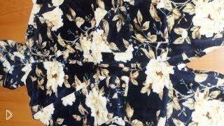 Смотреть онлайн Мастер класс: как сшить домашний халат с капюшоном