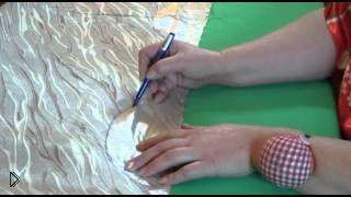 Смотреть онлайн Как правильно сшить римскую штору своими руками