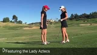 Смотреть онлайн Трюки женской команды по гольфу