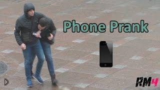Смотреть онлайн Розыгрыш: кража телефона в России