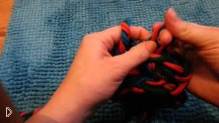 Смотреть онлайн Вязание без спиц своими руками