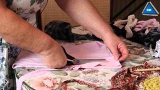 Смотреть онлайн Как правильно связать коврик крючком из лоскутков