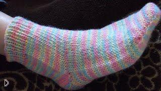 Как правильно связать детские носки спицами - Видео онлайн