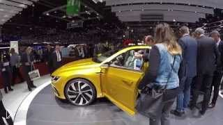 Смотреть онлайн Концепт кар Volkswagen Sport Coupe GTE