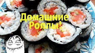 Смотреть онлайн Простой рецепт приготовления суши