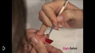 Смотреть онлайн Как правильно красиво покрасить ногти лаком