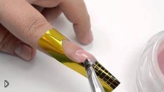 Смотреть онлайн Как самостоятельно нарастить короткие ногти