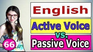 Изучаем английский: пассивный и активный залоги - Видео онлайн