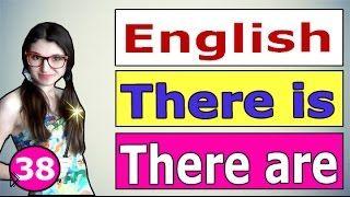 Смотреть онлайн Употребление THERE IS и THERE ARE в английском