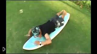 Смотреть онлайн Как научиться держать равновесие во время серфинга