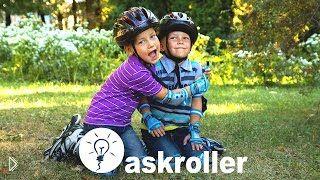 Как безопасно научить ребенка кататься на роликах - Видео онлайн