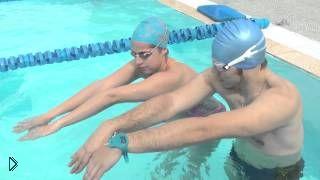 Смотреть онлайн Урок плаванья для начинающих взрослых