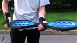 Смотреть онлайн Как научиться правильно кататься на двухколесном скейте