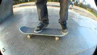 Смотреть онлайн Как научиться делать трюк на скейте для начинающих