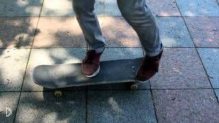 Обучение как сделать на скейте крутой трюк - Видео онлайн