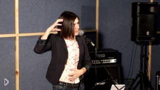 Урок обучения особенностей академического пения - Видео онлайн