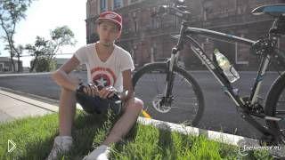 Смотреть онлайн Как надо правильно ездить на велосипеде