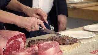 Смотреть онлайн Как жарить стейк на гриле: советы ресторатора