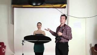 Смотреть онлайн как правильно снимать фотопортреты в студии