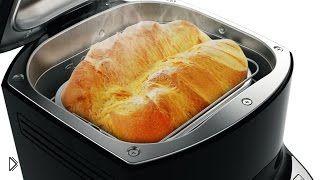 Смотреть онлайн Выпечка домашнего хлеба в хлебопечке