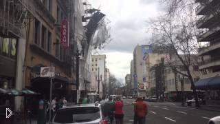 Смотреть онлайн Обрушение строящегося здания в штате Орегон