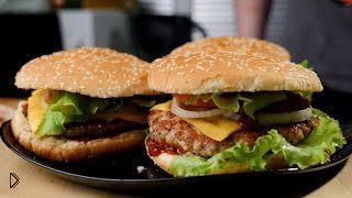 Смотреть онлайн Как правильно приготовить большой домашний бургер