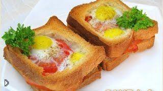 Рецепт как приготовить вкусный горячий бутерброд - Видео онлайн