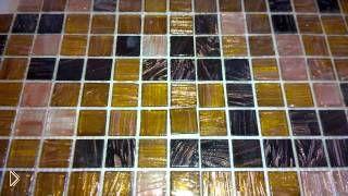 Смотреть онлайн Совет по кладке плитки мозаики