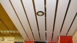 Смотреть онлайн Как установить точечные стветильники в ванной комнате