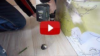 Устанавливаем напольный ограничитель двери - Видео онлайн