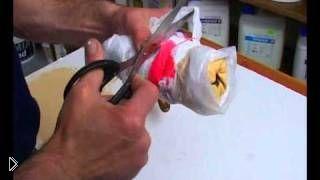 Смотреть онлайн Как сделать текстурный валик самостоятельно