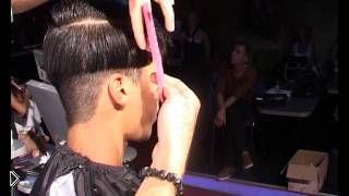 Как делать мужскую стрижку короткий боб - Видео онлайн