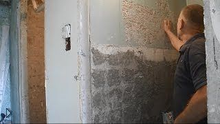 Смотреть онлайн Как очистить стену от крепкой краски