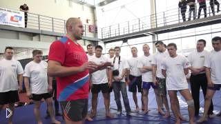 Урок приемы и техника борьбы в партере - Видео онлайн