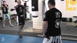 Александр Шлеменко, как правильно бить хук справа - Видео онлайн