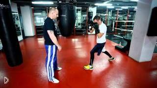 Смотреть онлайн Работа на боксерском тяжелом мешке для начинающих