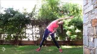 Смотреть онлайн Урок танцевальной фитнес аэробики для похудения